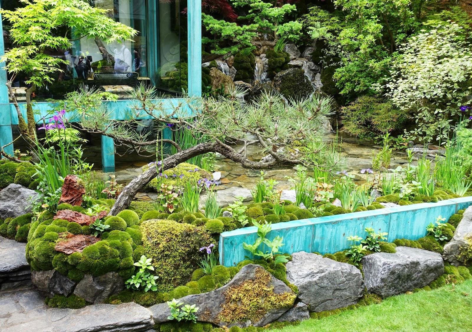 Shihara Kazuyuki's 'Gosho No Niwa garden, Chelsea Flower Show 2017