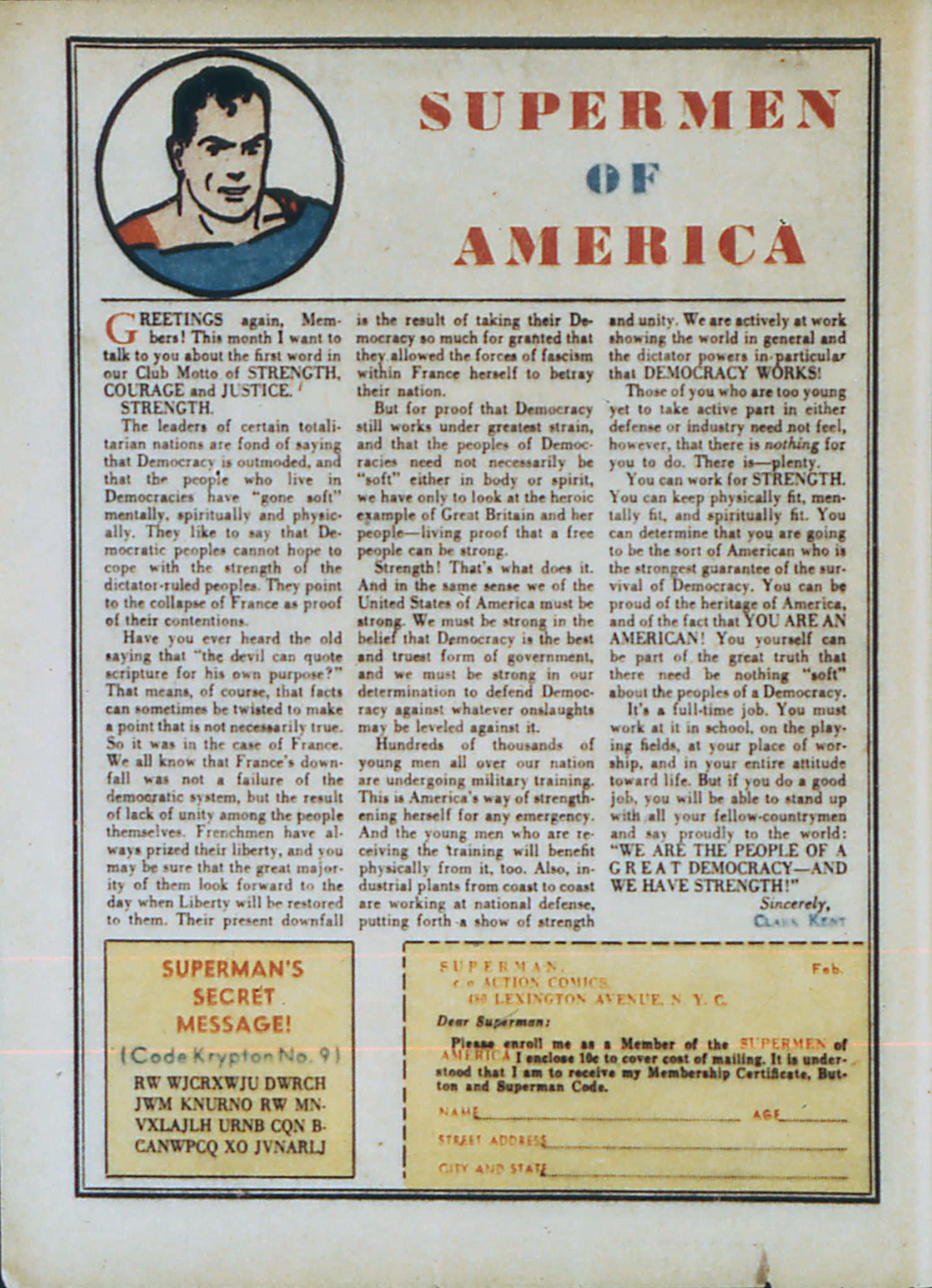 Read online Action Comics (1938) comic -  Issue #33 - 17