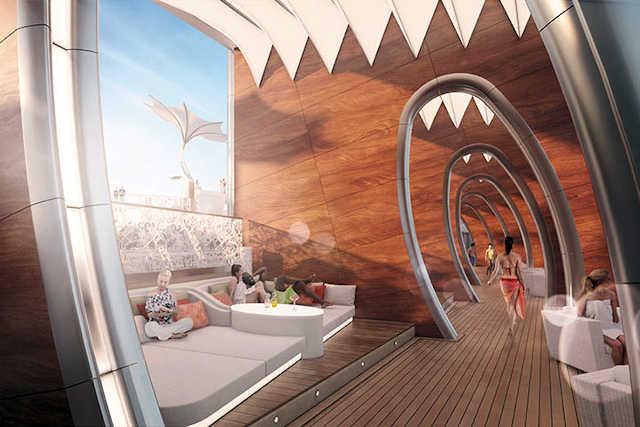 Celebrity Edge Resort Deck, Cabanas (C) Celebrity Cruises