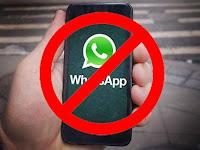 Hati Hati !! Jangan Lakukan 5 Hal Ini Atau Akun WhatsApp Anda Diblokir