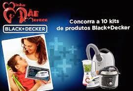 concursos dia das mães Black & Decker