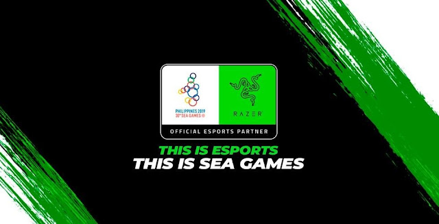 Razer official esports partner for SEA GAMES 2019