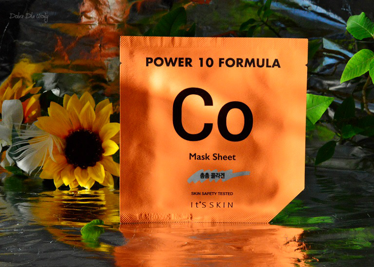 IT'S SKIN Power 10 Formula Mask Sheet CO Ujędrniająca maska w płachcie z kolagenem