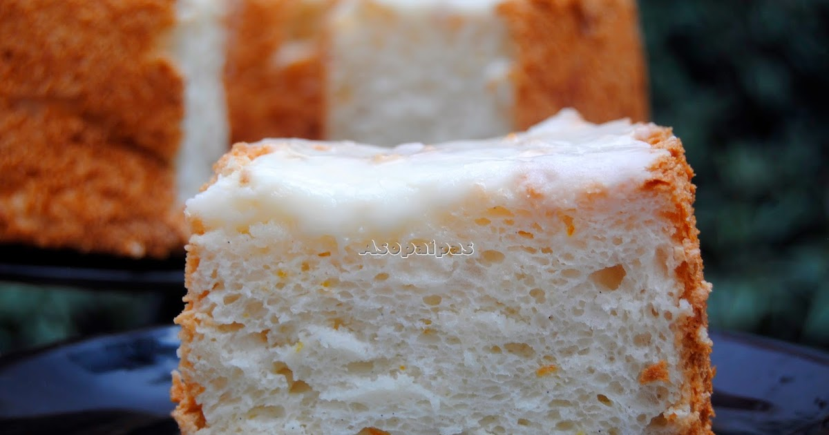 Orange Angel Food Cake Muffins