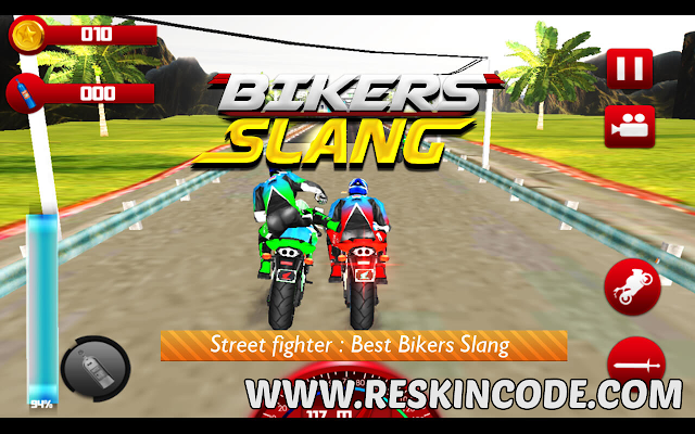 Biker Slang Unity Source Code Complete Project
