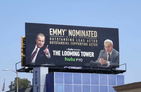 Looming Tower 2018 Emmy nominee billboard