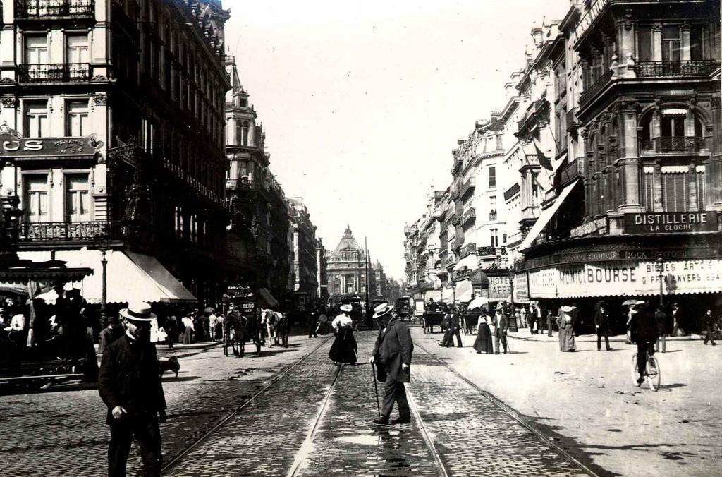 Brussels, Belgium in 1899 ~ vintage everyday