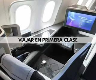 Viajar en primera clase