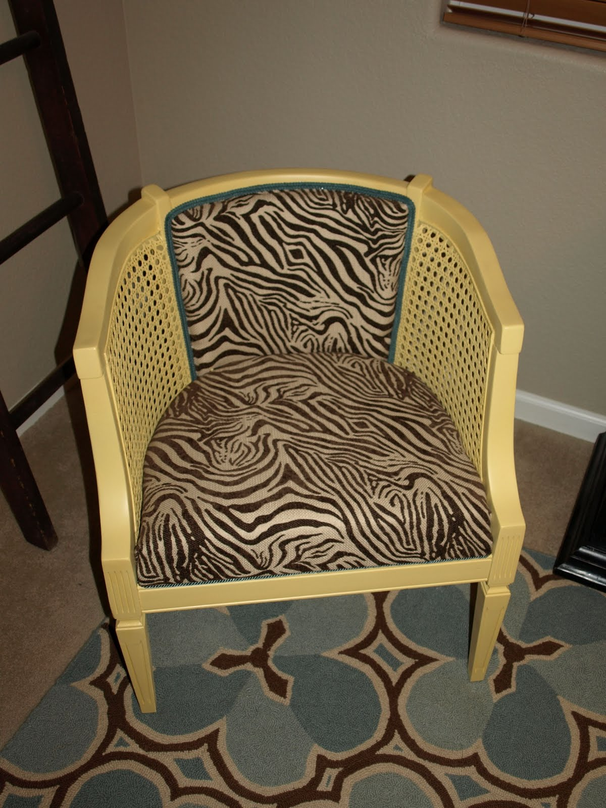 oh write!: Yellow Cane Chair (Revisited)