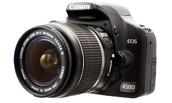 Daftar Harga Kamera Canon Digital EOS 450D dan Spesifikasi Terbaru 2015