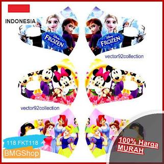 FKT118 Masker Anak Karakter Printing BMGShop