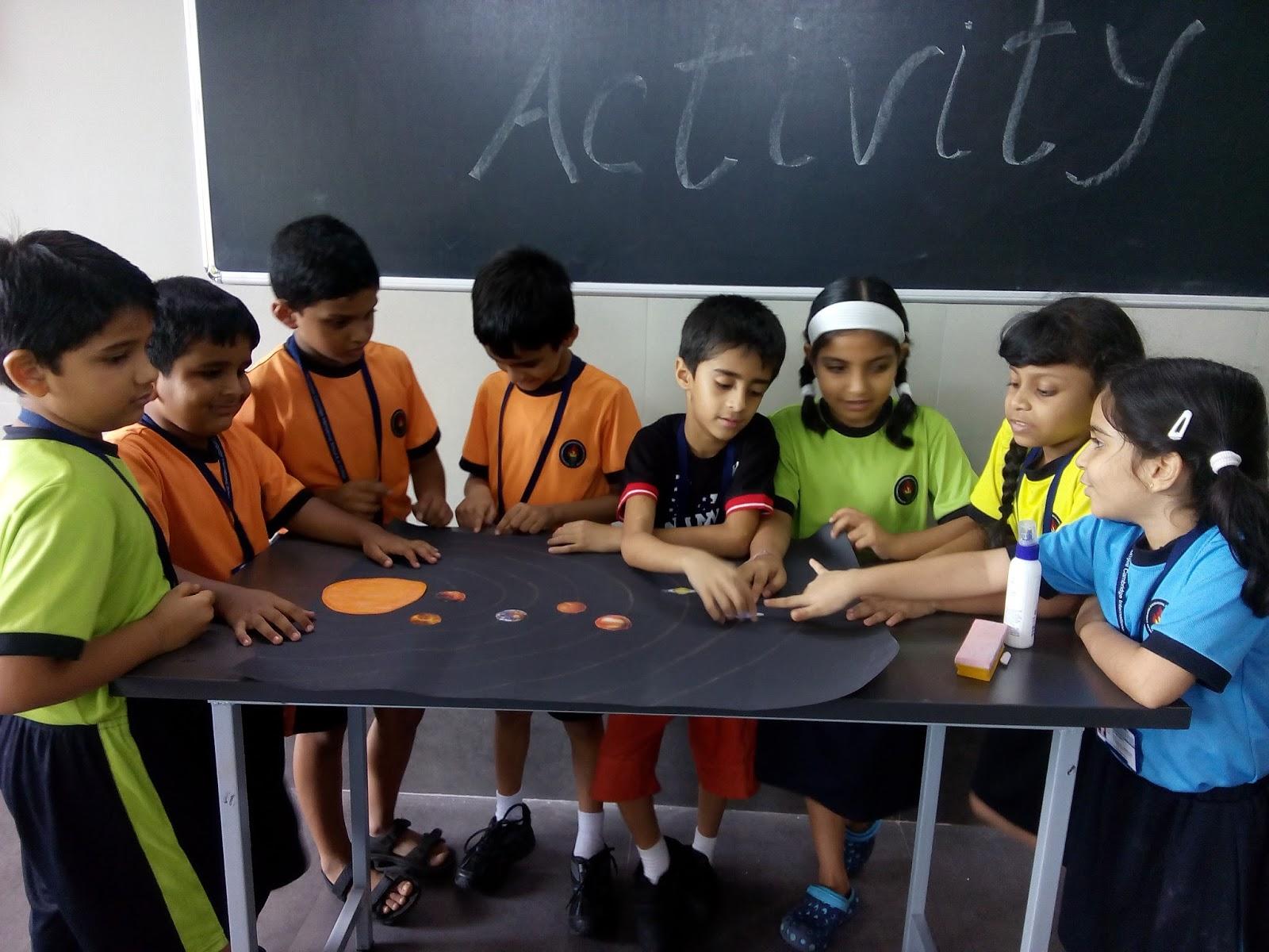 The Rustomjee Cambridge Thane Diaries Grade 2 Activity