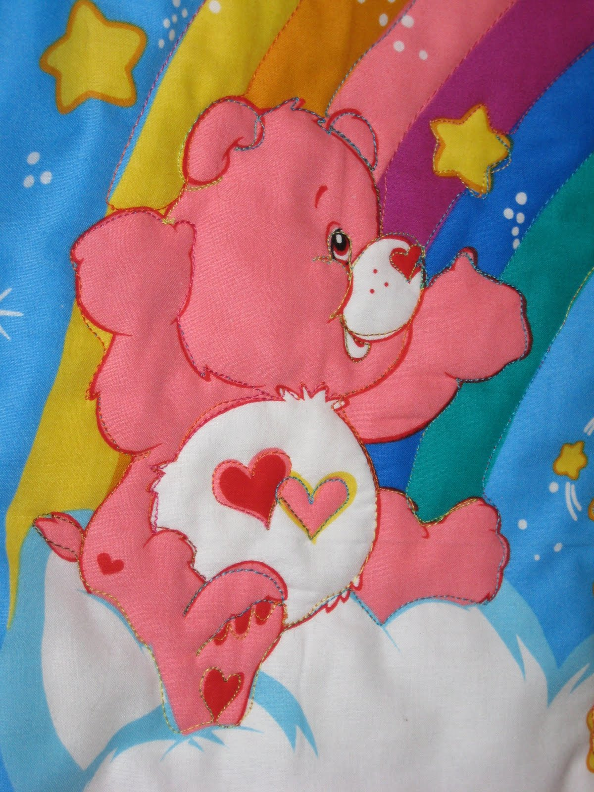 Robin Loves Quilting: Care Bear Stare 2