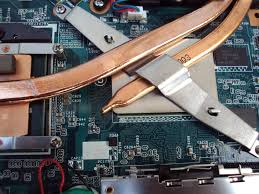 Bagian slot VGA dan RAM yang kotor