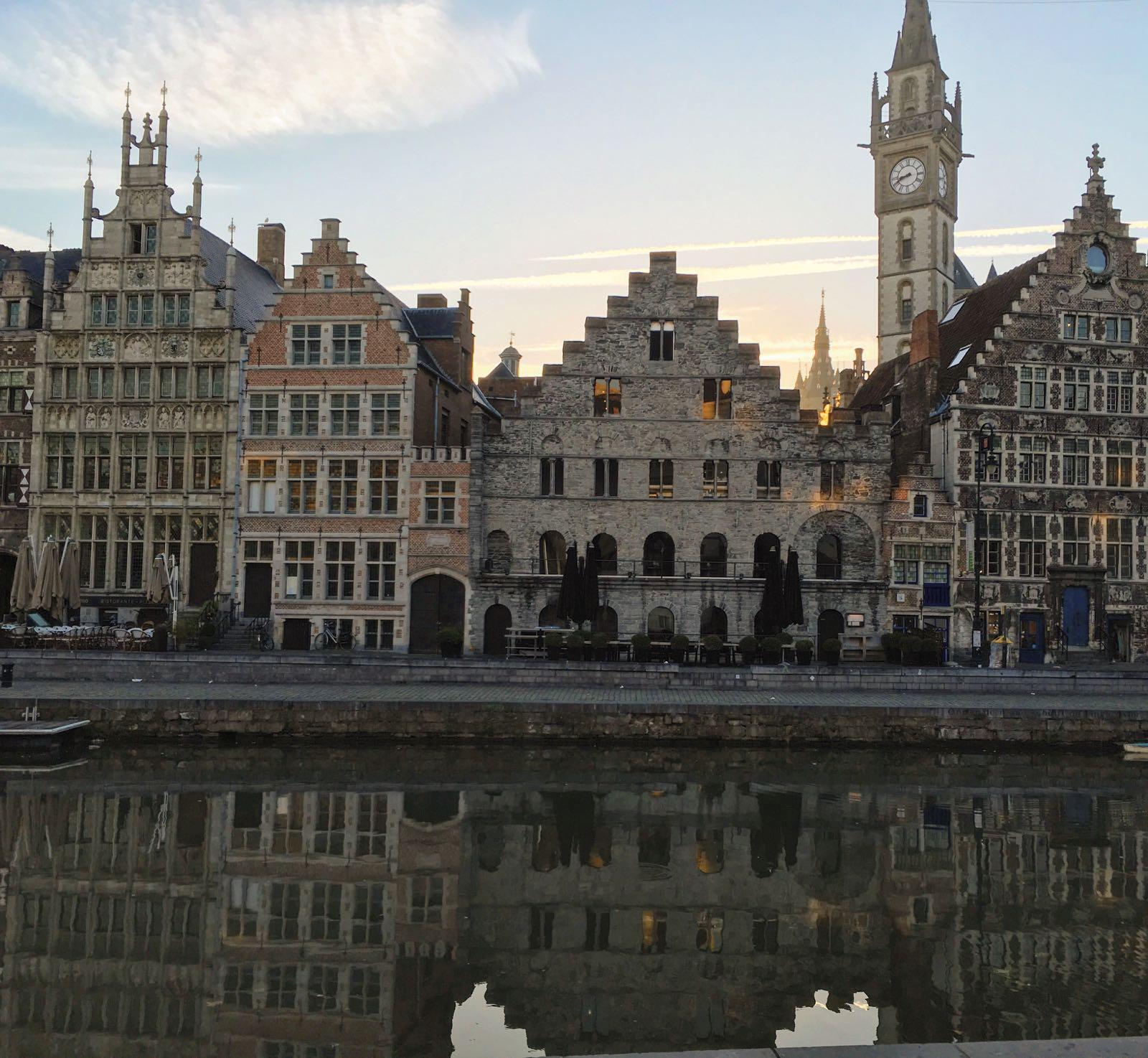 Le Chameau Bleu - Escapade à Gand en Belgique - Les canaux de Gand
