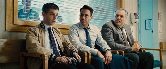 "Robert Downey Jr, Vincent D´Onofrio  y Jeremy Strong en ""El Juez"""