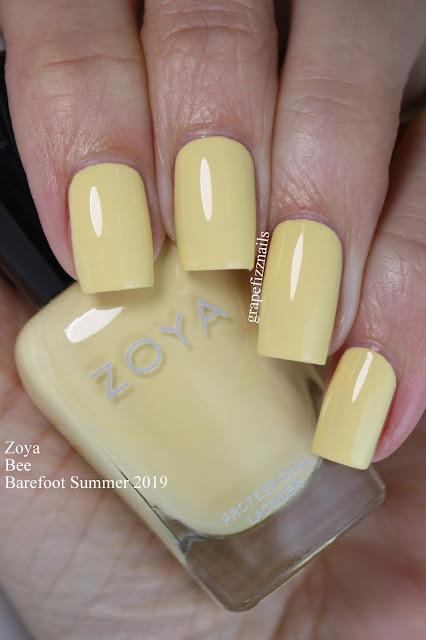 Zoya Bee Barefoot Summer 2019