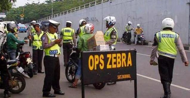 Operasi Zebra Mulai Digelar, Lengkapi Surat-Surat Anda dan Jaga Ketertiban Berlalu Lintas