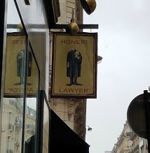 Honest Lawyer, French cafe