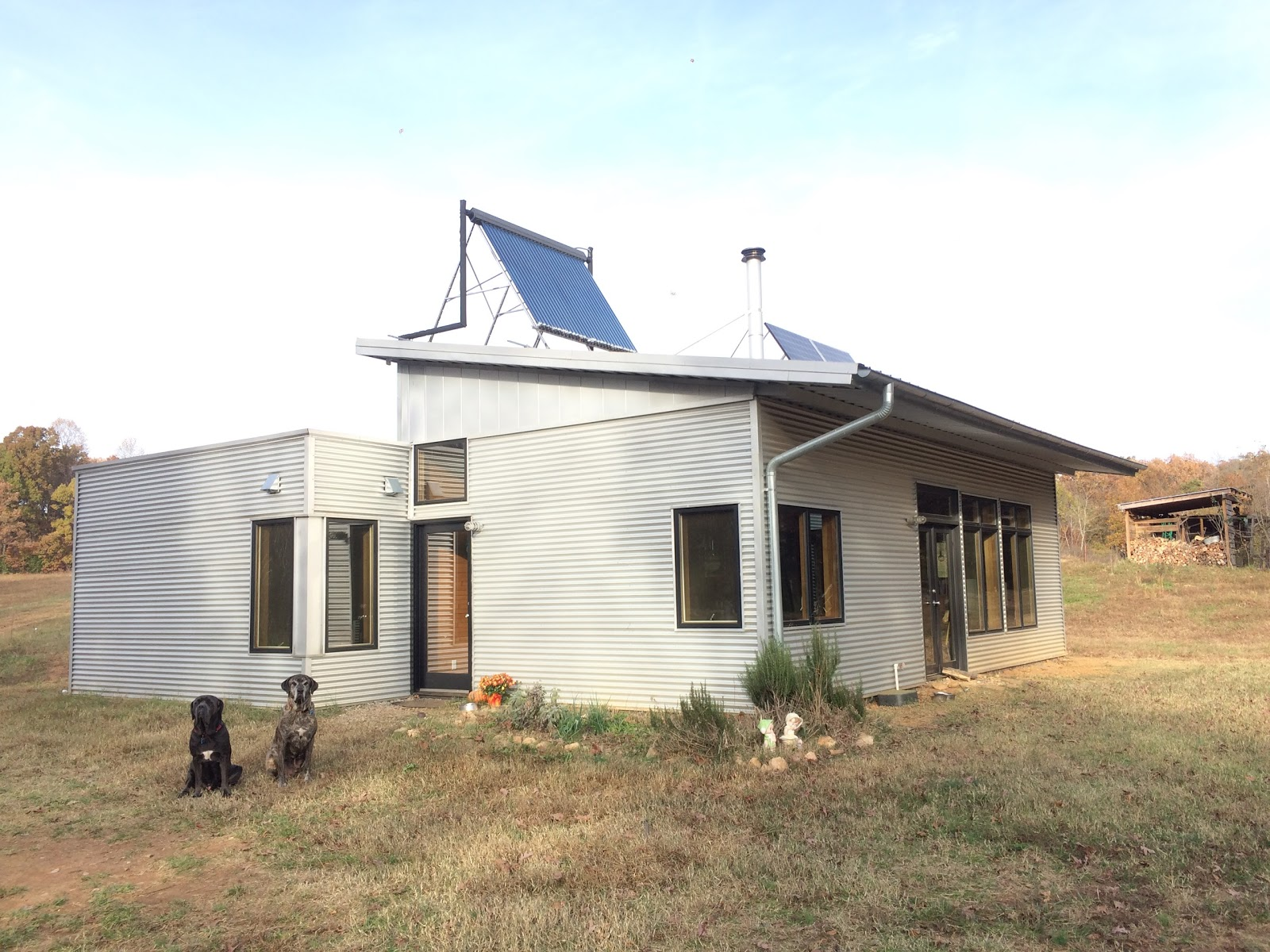 Off Grid Prefab House Looks In To Cook Stoves Hot Water