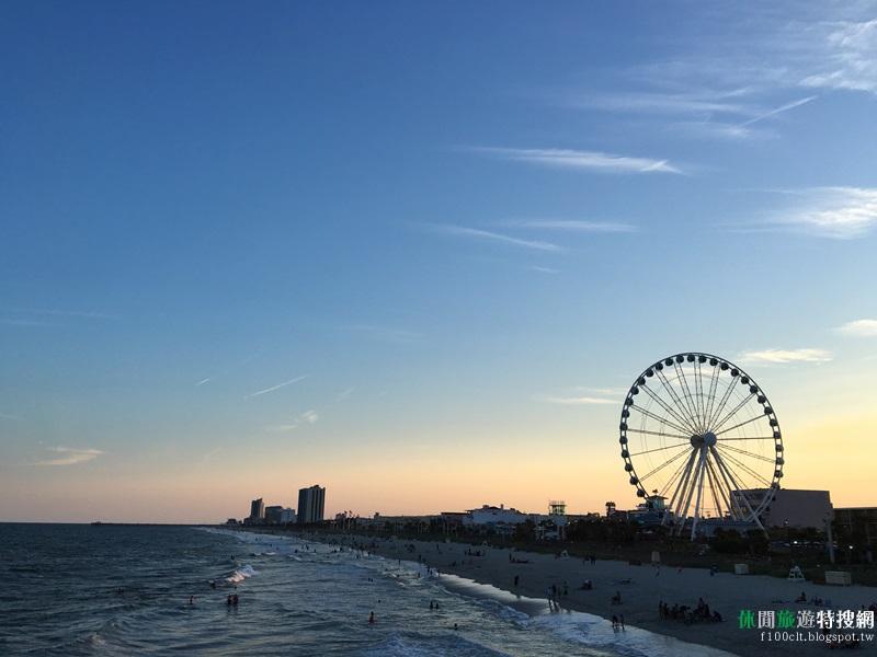 [美國.南卡羅來納] 全美票選前三大渡假勝地之一 默特爾比奇(myrtle beach)