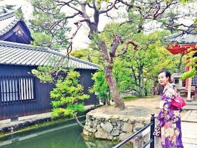 Experience wearing Kimono in Kyoto | www.meheartseoul.blogspot.com