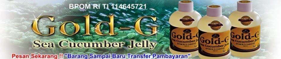 GOLD-G Sea Cucumber Jelly