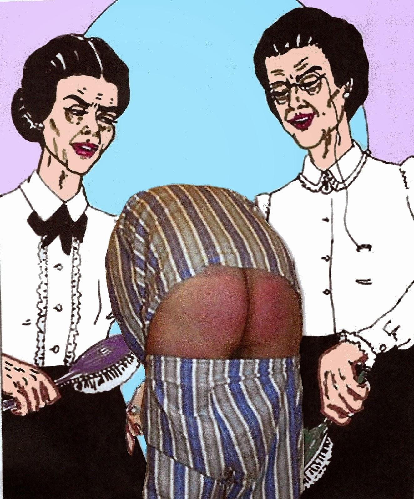 Landladies that spank-8059