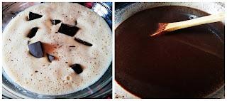 Домашен течен шоколад с кондензирано мляко и соев сос - рецепта