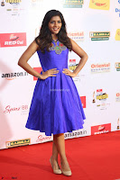 Eesha in Cute Blue Sleevelss Short Frock at Mirchi Music Awards South 2017 ~  Exclusive Celebrities Galleries 066.JPG