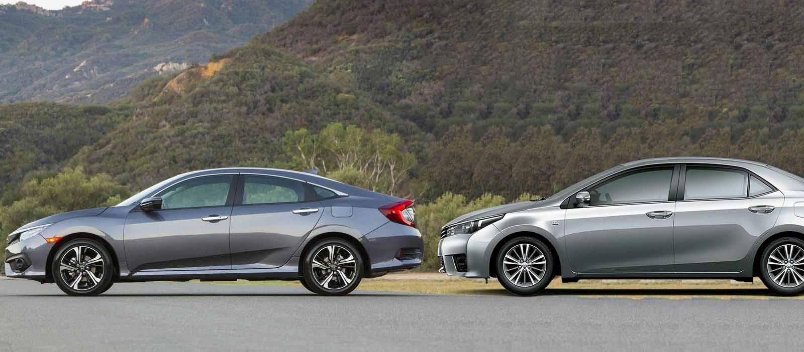 Honda Civic 2017 enfrenta o Toyota Corolla: comparativo ...