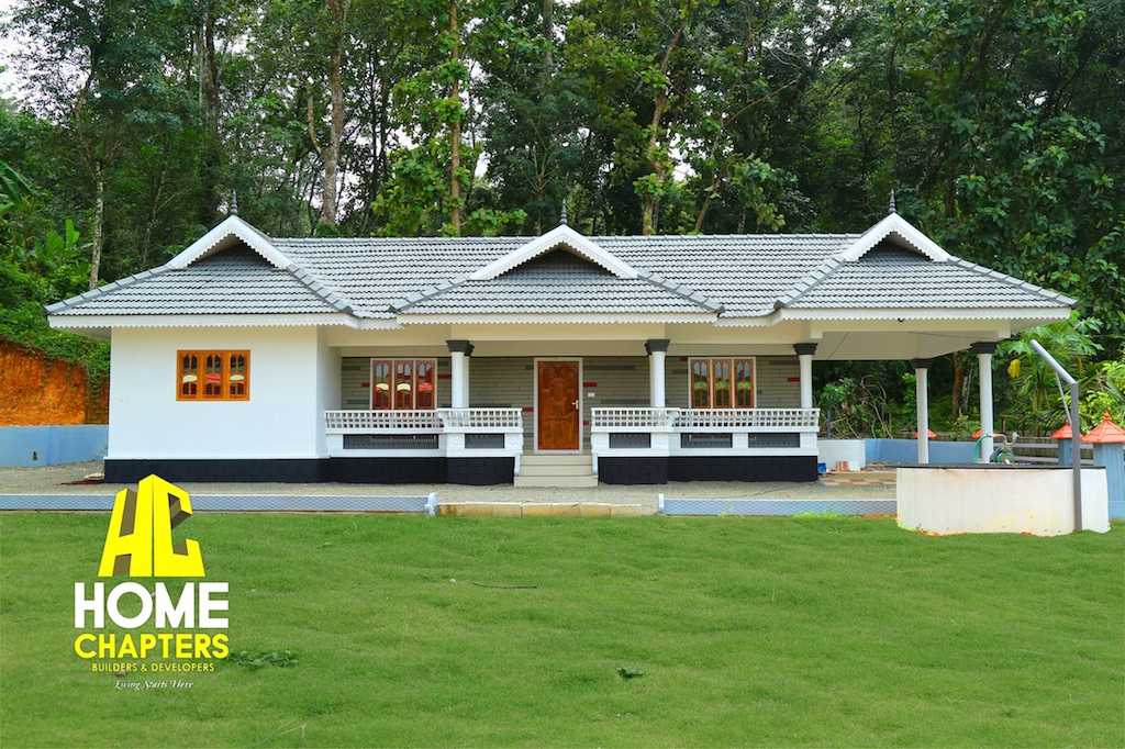Kerala traditional veedu home design idea by anel john for Low cost kerala veedu plans
