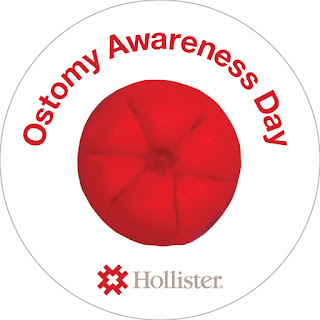 Wear your stoma sticker for Ostomy Awareness Day and share with your ostomy friends