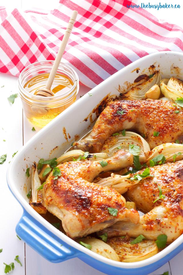 http://www.thebusybaker.ca/2016/09/honey-mustard-glazed-chicken.html