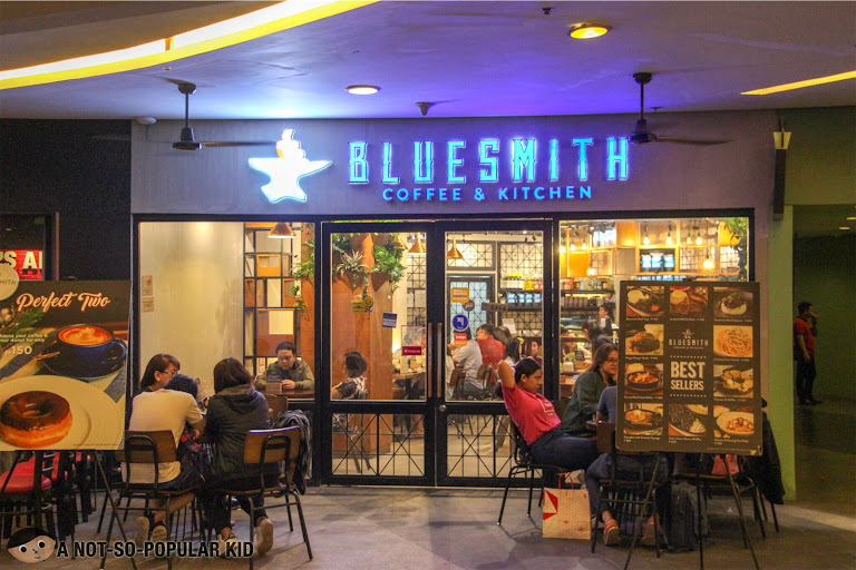 Bluesmith Coffee and Ktichen in Greenbelt, Makati