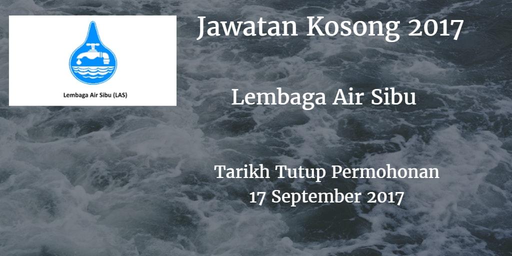 Jawatan Kosong Lembaga Air Sibu 17 September 2017