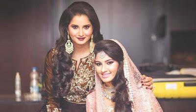 sania-mirza-sister-anam-mirza-wedding-celebrations