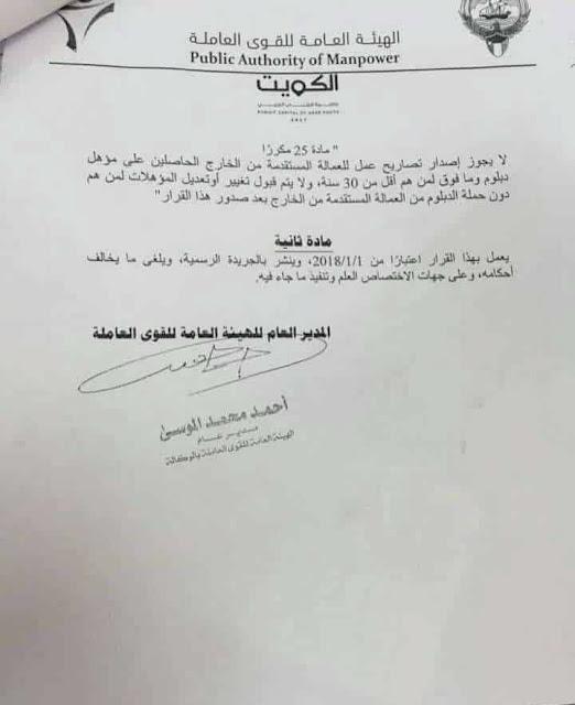 قرار-الحكومة-الكويتية