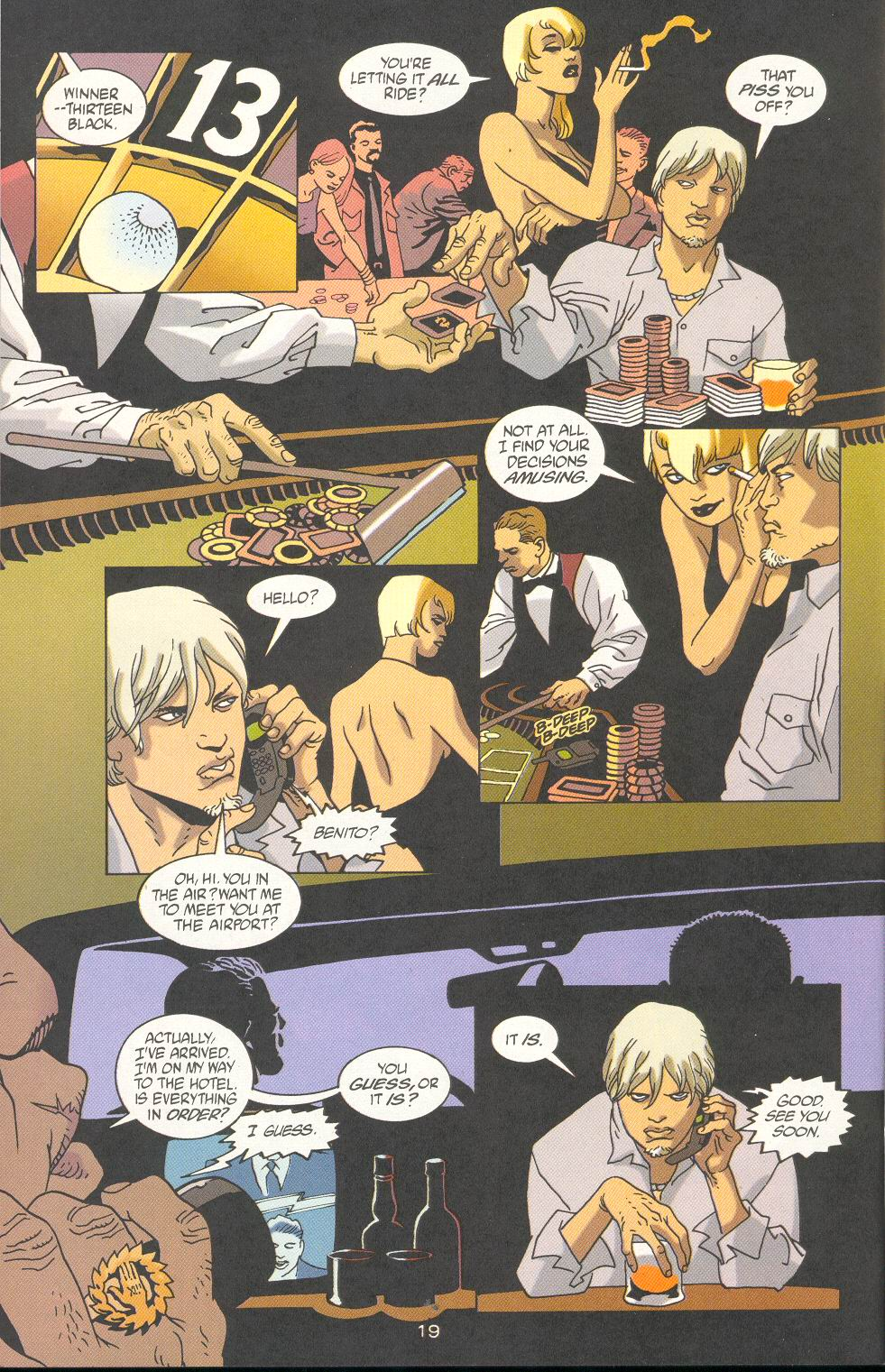 Read online 100 Bullets comic -  Issue #23 - 21