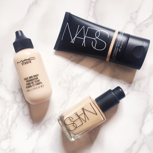 Top 3 Foundations for Spring/Summer