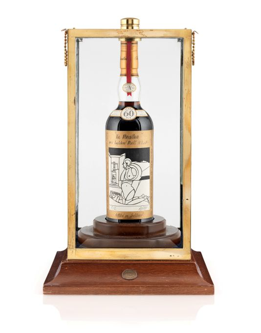 d5ce70d91450a A Bottle of Macallan Scotch Whisky Sells for $1.1 Million Dollars ...
