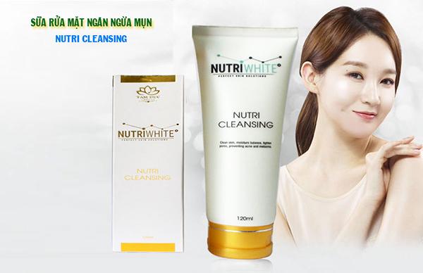 Nutri Cleansing - Sữa Rửa Mặt Ngăn Ngừa Mụn Hiệu Quả