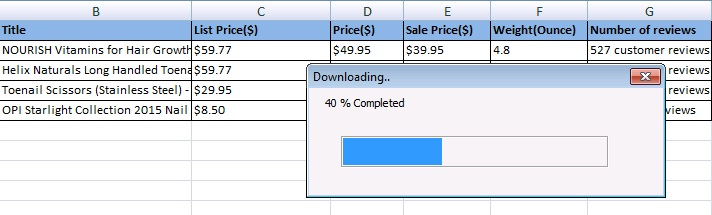 Amazon Price tracker with Excel VBA - Amarindaz