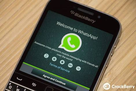 Good News To Blackberry Users See How To Use WhatsApp After Dec 31st