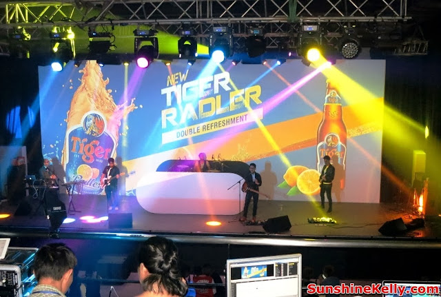 Tiger Radler, Double Refreshment, tiger beer malaysia, tiger beer, party, kl live, kyoto protocol, live band