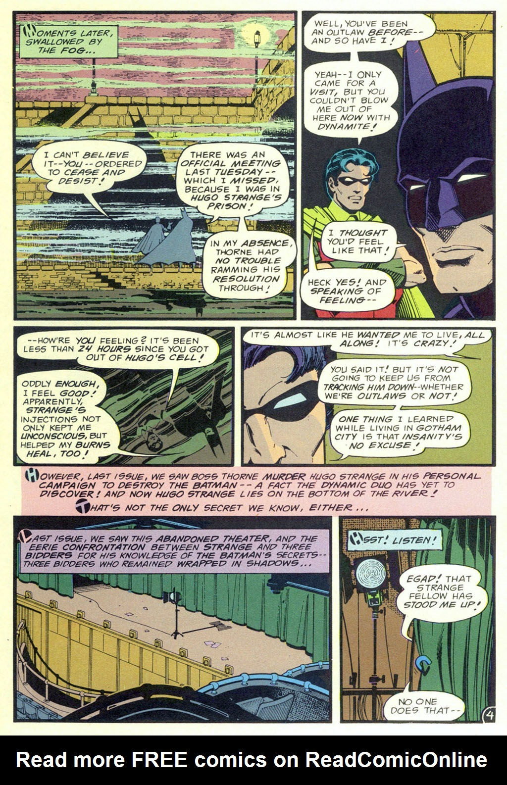 Read online Shadow of the Batman comic -  Issue #3 - 7