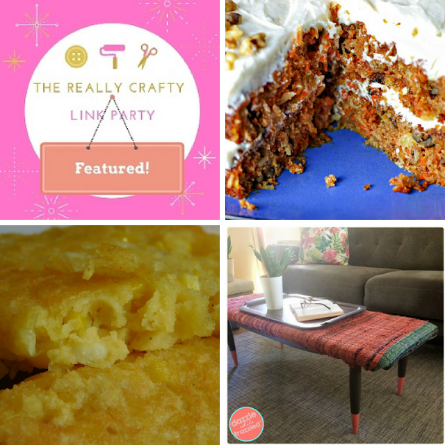 The Really Crafty Link Party #124 featured posts