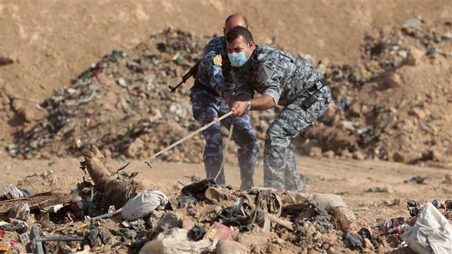 Iraq military investigators discovers mass graves of 500 Daesh victims near Mosul
