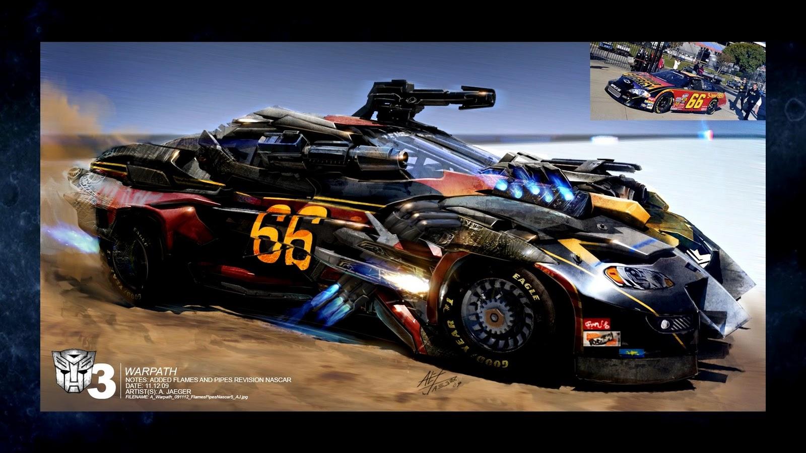 Shockwave Racing Car