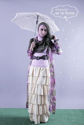 model hijab Igo Cantik ala dewi sandra cewek cantik pakai Hijab dan baju ketat tapi tidak jilboob